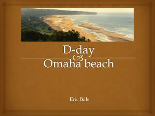 D-day Omaha beach