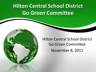 Hilton Central School District Go Green Committee