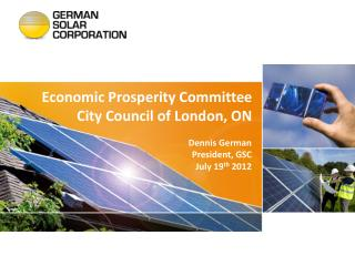 Economic Prosperity Committee City Council of London, ON