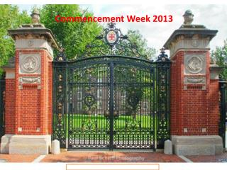 Commencement Week 2013
