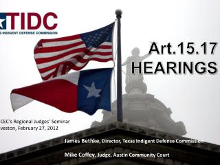 Art.15.17 HEARINGS