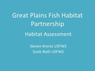 Great Plains Fish Habitat Partnership