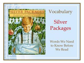 Vocabulary Silver Packages