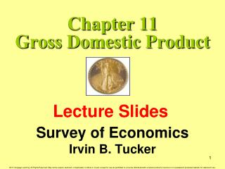 Chapter 11 Gross Domestic Product