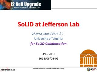 SoLID  at Jefferson Lab