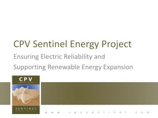 CPV Sentinel Energy Project