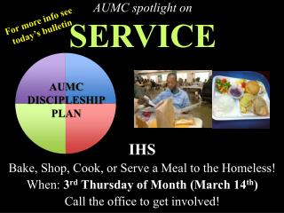 AUMC spotlight on SERVICE