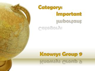 Knowsys Group 9
