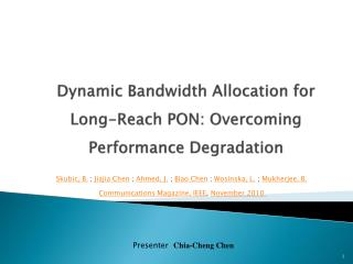 Dynamic Bandwidth Allocation for Long-Reach PON: Overcoming Performance Degradation