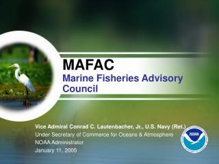 MAFAC Marine Fisheries Advisory Council