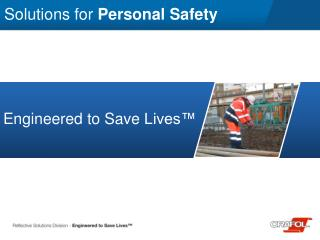 Solutions for  Personal Safety