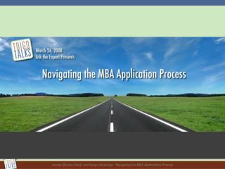 Jevelyn Bonner-Reed and Sergio Sotolongo - Navigating the MBA ...