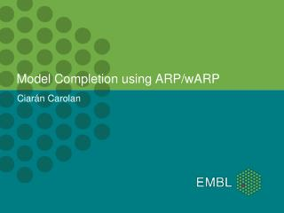 Model  Completion using ARP/wARP