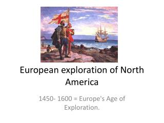 European exploration of North America