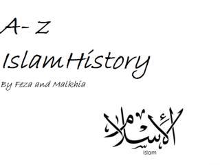 A-Z Islam History