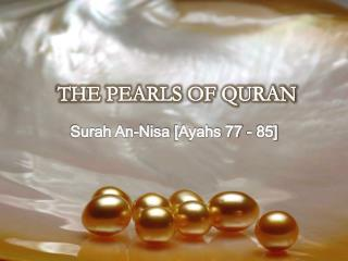 THE PEARLS OF QURAN