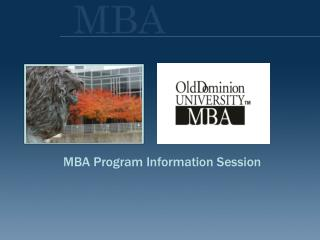 MBA Program Information Session