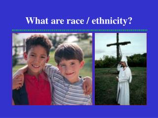 What are race / ethnicity?