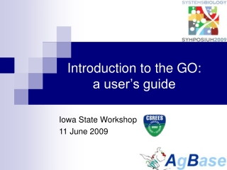 Bovine Genome Annotation Workshop