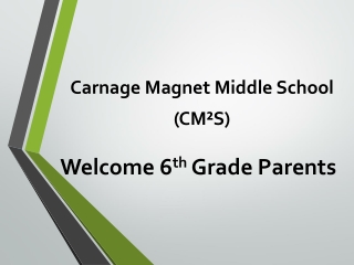 Welcome to your childs  6th grade ENVIRONMENTAL SCIENCE  magnet class