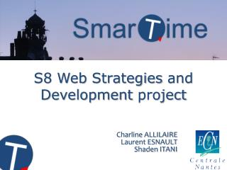 S8 Web  Strategies  and  Development project
