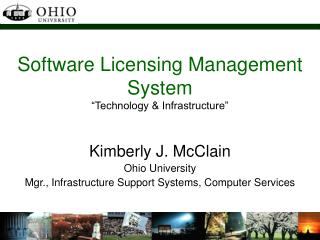 "Software Licensing Management System ""Technology & Infrastructure"""
