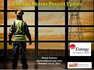 Entergy Phasor Project Update