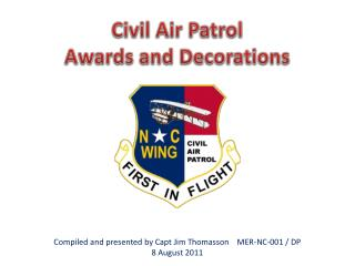 Civil Air Patrol Awards and Decorations