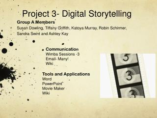 Project 3- Digital Storytelling