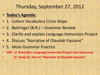 Thursday, September 27, 2012