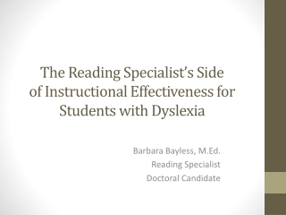 Supporting Struggling High School Readers