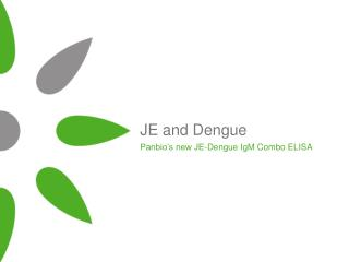 JE and Dengue