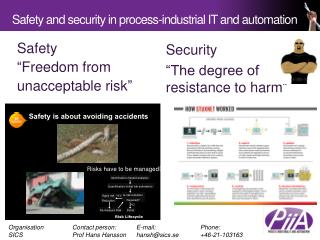 Safety  and security in process-industrial IT and automation