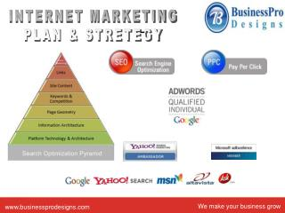 INTERNET MARKETING PLAN & STRETEGY