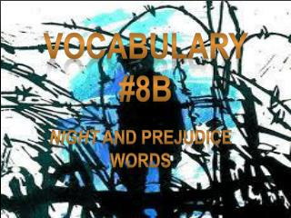 Vocabulary #8B