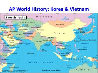 AP World History: Korea & Vietnam
