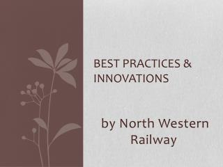Best practices & innovations
