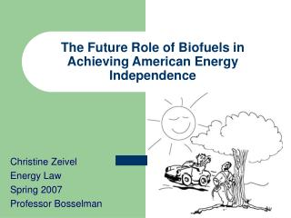 The Future Role of Biofuels in Achieving American Energy Independence