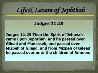 Judges 11:29