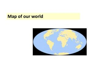 Map of our world