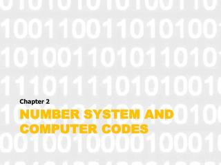 Number system and computer codes