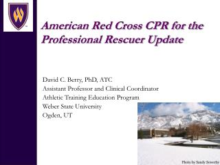 American Red Cross CPR for the Professional Rescuer Update