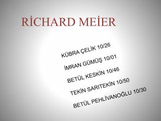RİCHARD MEIER