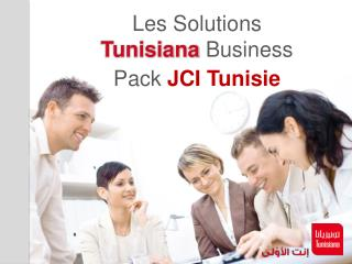 Les Solutions  Tunisiana  Business