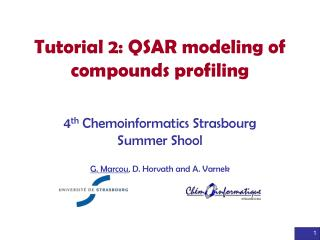 Tutorial 2: QSAR modeling of compounds profiling