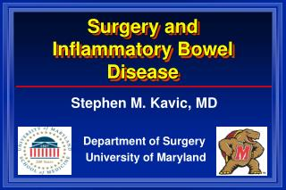 Surgery and  Inflammatory Bowel Disease