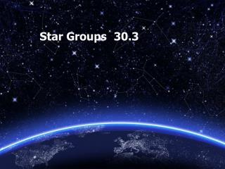 Star Groups	  30.3