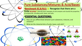 What are the characteristics of Acids Bases