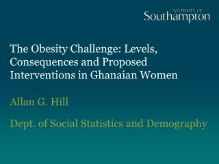 The Obesity Challenge: Levels, Consequences and Proposed Interventions in Ghanaian Women