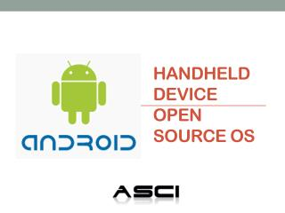 Handheld Device Open Source OS